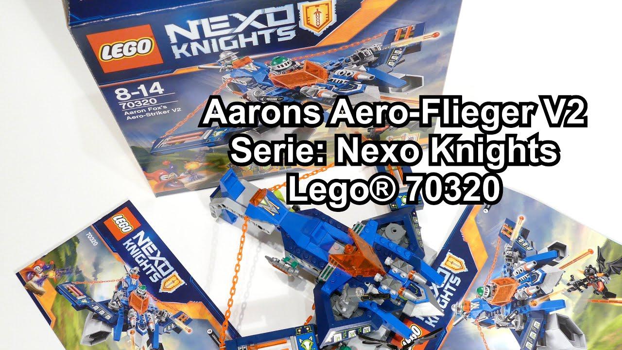 Lego Nexo Knights 70320 Aarons Aero-Flieger Baukästen & Konstruktion