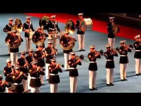 US MARINE BAND, Canadian Navy Centennial Tattoo PNE 2010