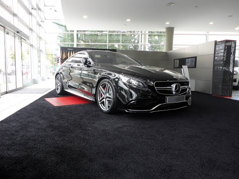 2015 Mercedes S63 AMG 4 Matic Coup  YouTube