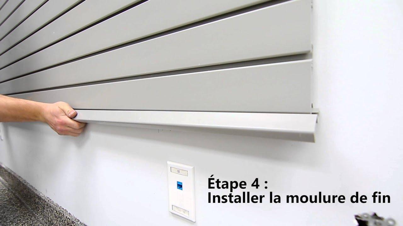 Syst me de rangement pour garage zg wall youtube - Systeme rangement garage ...