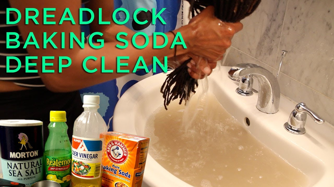 Baking Soda Apple Cider Vinegar Hair Detox | Anexa Beauty