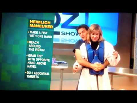 Heimlich Maneuver Demo/Dr Oz Show/ActFast Med Videos