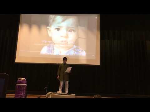 Siddhesh's Singing Performance At Clovercroft Elementary School on International Day 2015