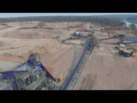 Lulo Diamond Project Site Tour Video | Plant and mb08