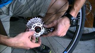 How to Change a Cassette on a Bicycle