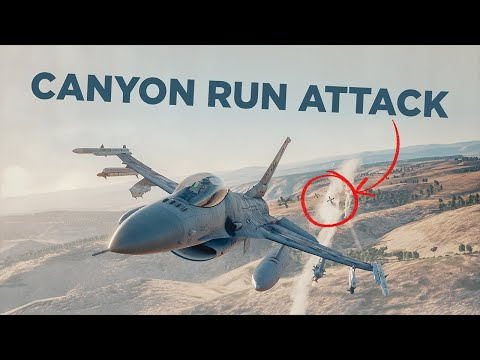 DCS World F-16 - Dropping MK-82 Snake Eyes from the F16 |