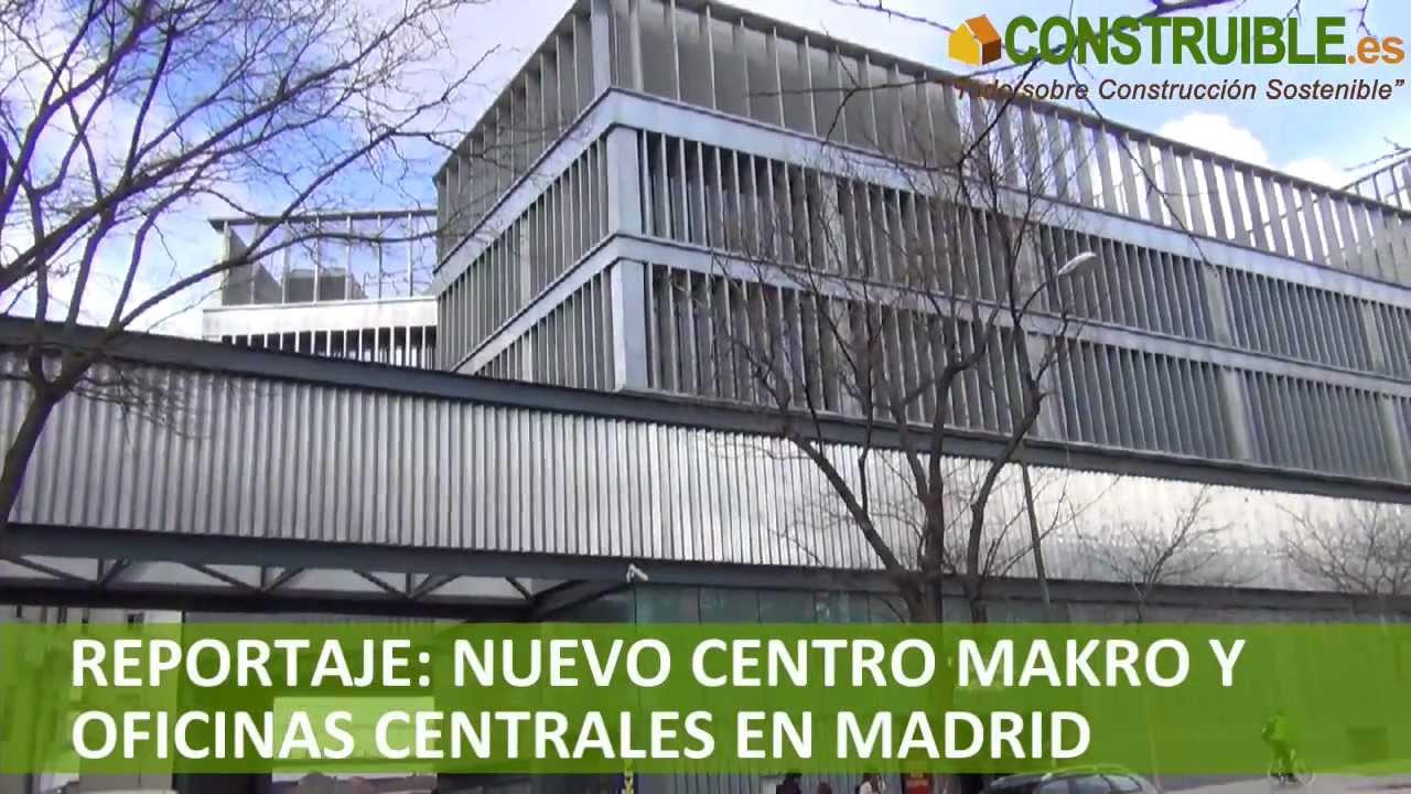 Construible nuevo edificio makro y oficinas centrales en for Oficinas makro madrid