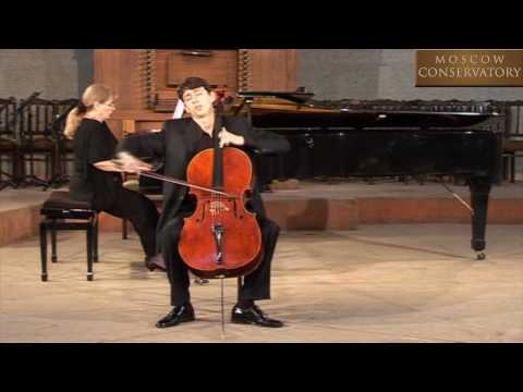 S. Rachmaninov - Sonate for cello and piano, part 3. Narek Hakhnazaryan
