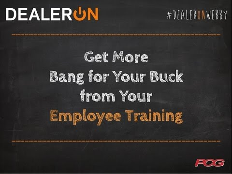 Get More Bang for Your Buck from Your Employee Training