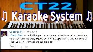 Europe - Prisoner in Paradise KARAOKE PIANO REQUEST
