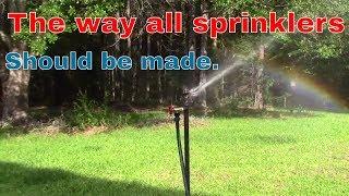Steam punk water sprinkler
