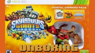 Skylanders Giants - Portal Owners Pack Unboxing (XBOX 360) HD