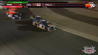 NASCAR K&N Pro Series West 2019. Colorado National Speedway. Last Laps Battle for Win
