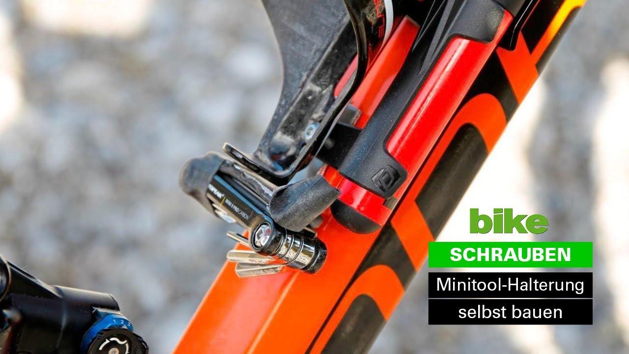 Fahrrad Luftpumpe mit Halterung zur Montage