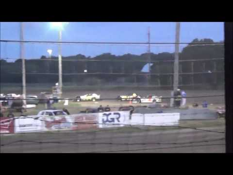 LMSS TOURING SERIES HEAT 1 RAPID SPEEDWAY AUGUST 19,2016