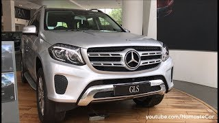 Mercedes-Benz GLS-Class 400 4MATIC 2017 | Real-life review