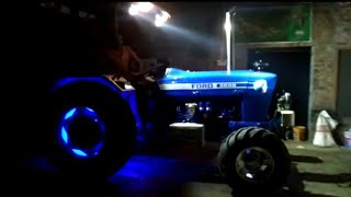 Modified Ford 3600 tractor luxury Lighting System like Luxury Ford Mustang Car ।
