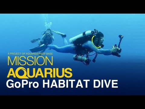GoPro Dive Into Aquarius Reef Base Habitat