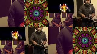 6/8 PERCUSSION TRACK WITH CONGAS, TALKING DRUM, SHEKERE, AGOGO, GONGUÊ AMONG OTHERS