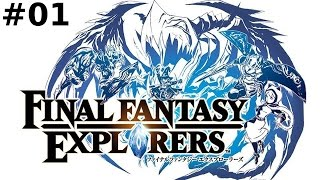 Final Fantasy Explorers -- Part 1: Fantasy Hunter?