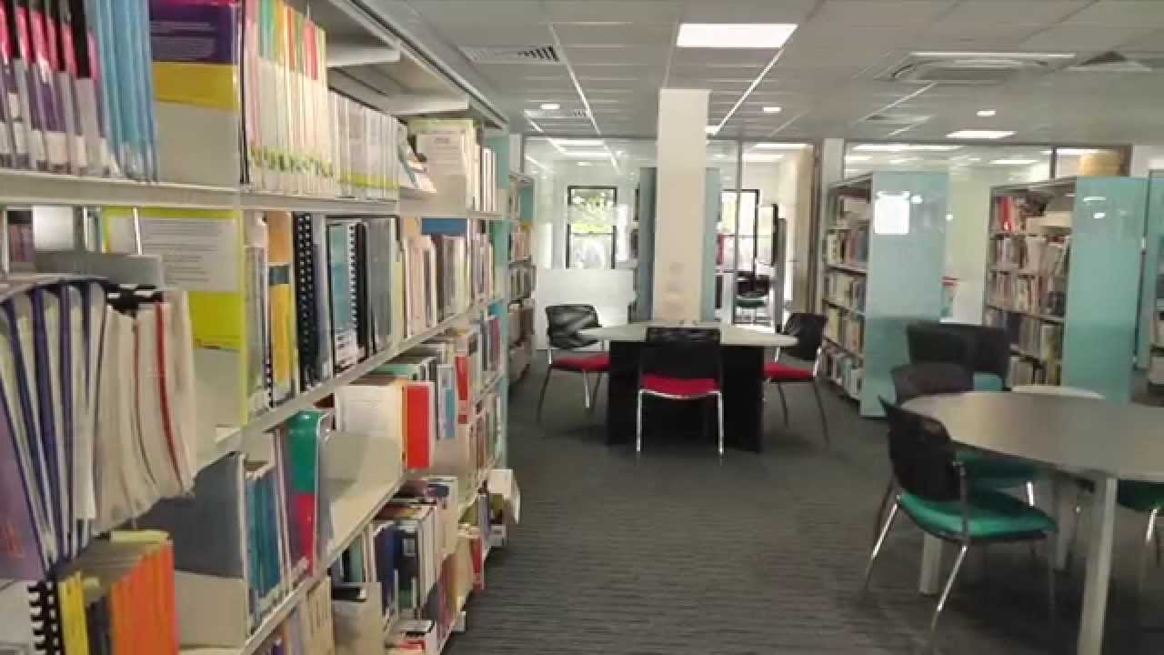 Naylor Library at St Mary's - YouTube