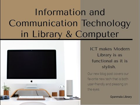 Information and Communication Technology Use in Library & Computer PSSSB Topic