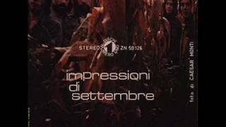 P.F.M. - Impressioni di settembre - 1972