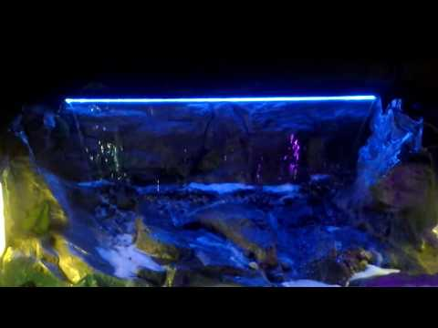Atlantic waterfall spillway - aquascape spillway - LED Waterfall Spillway - pondless waterfall