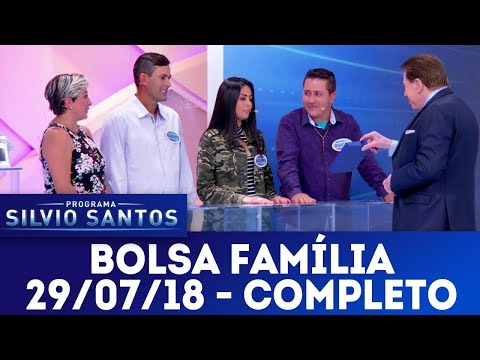 Bolsa Família - Completo | Programa Silvio Santos (29/07/18)