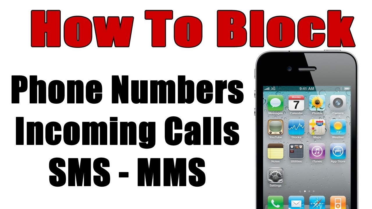 how to block phone number on iphone how to block any phone number on the iphone iblacklist 19857