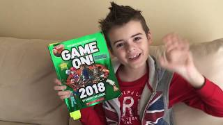 GAME ON 2018 BOOK l ROBLOX SPECIAL l READ ALOUD .... WHAT SHOULD I READ NEXT?