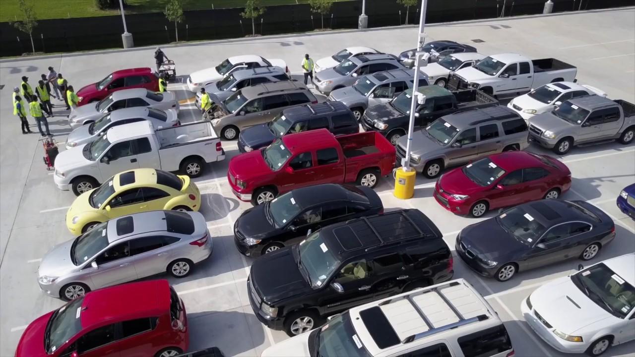 AutoNation Auto Auction Houston - YouTube