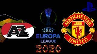 FIFA 20 UEFA Europa League AZ vs Manchester United