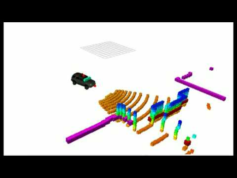CAT Vehicle Testbed Driving with a ps joystick by kaiyu ryozin