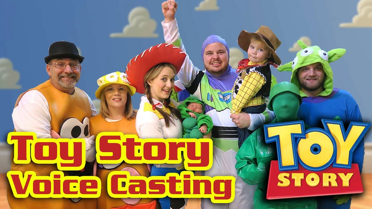 Toy Story Voice Over Actors Youtube