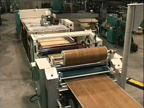 Continual Wet Paper Laminating System - Black Bros. Co.