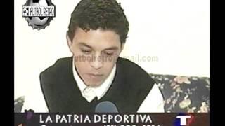 Marcelo Gallardo de River nota en su casa 1997 FUTBOL RETRO TV