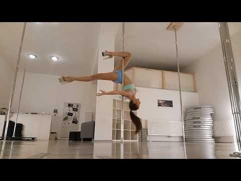 Pole Dance Choreography - Lavender and Velvet (Beginner/Intermediate)
