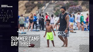 Baby Future Ballin' Out!! | Russell Wilson Seahawks Summer Camp Day Three