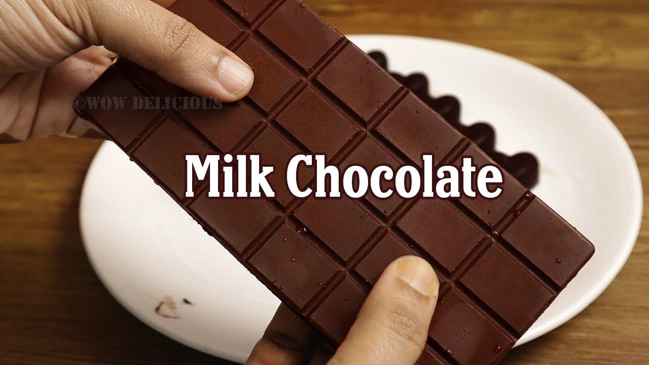 Milk Chocolate | Homemade Chocolate Recipe | How to Make Milk Chocolate | Milk Chocolate Recipe
