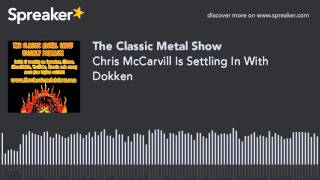 Chris McCarvill Is Settling In With Dokken