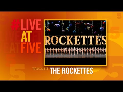 Broadway.com #LiveatFive with The Radio City Rockettes of CHRISTMAS SPECTULAR