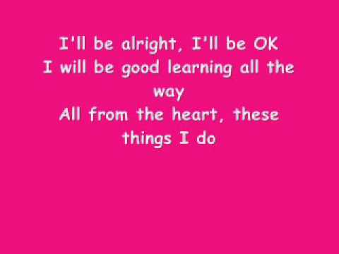 I'll be Alright (w/ Lyrics) Sarah Geronimo