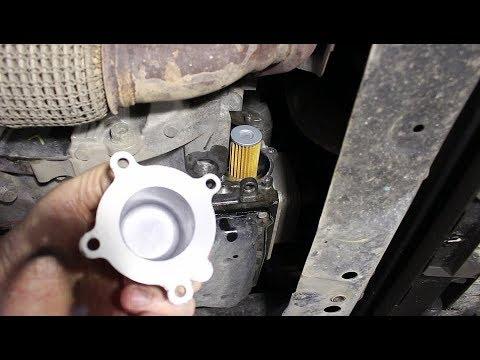 Частичная замена масла и фильтра в вариаторе на Ниссан Х трейл T32 Nissan X TRAIL 2,5 2017 года