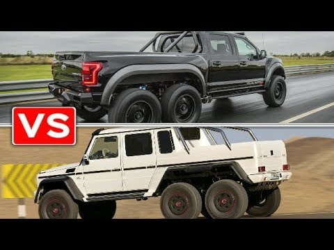VELOCIRAPTOR 6X6 VS G63 AMG 6X6 - YouTube