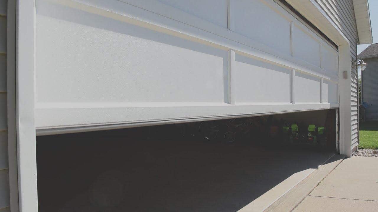 Testing The Reversing Mechanism On Your Garage Door Youtube