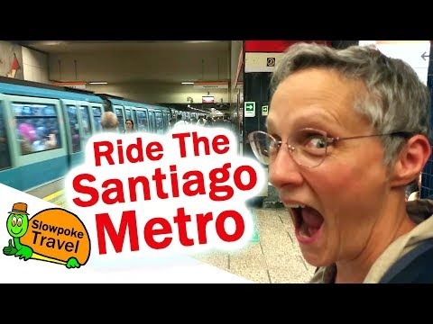 How to use the Metro in Santiago Chile