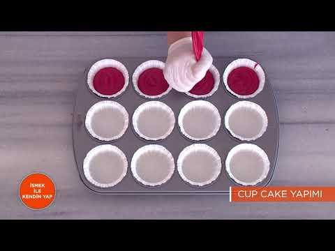 İSMEK ile Kendin Yap | Cup Cake Yapımı Çalışması