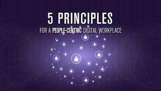 5 المبادئ المرتكزة على الناس العمل الرقمي