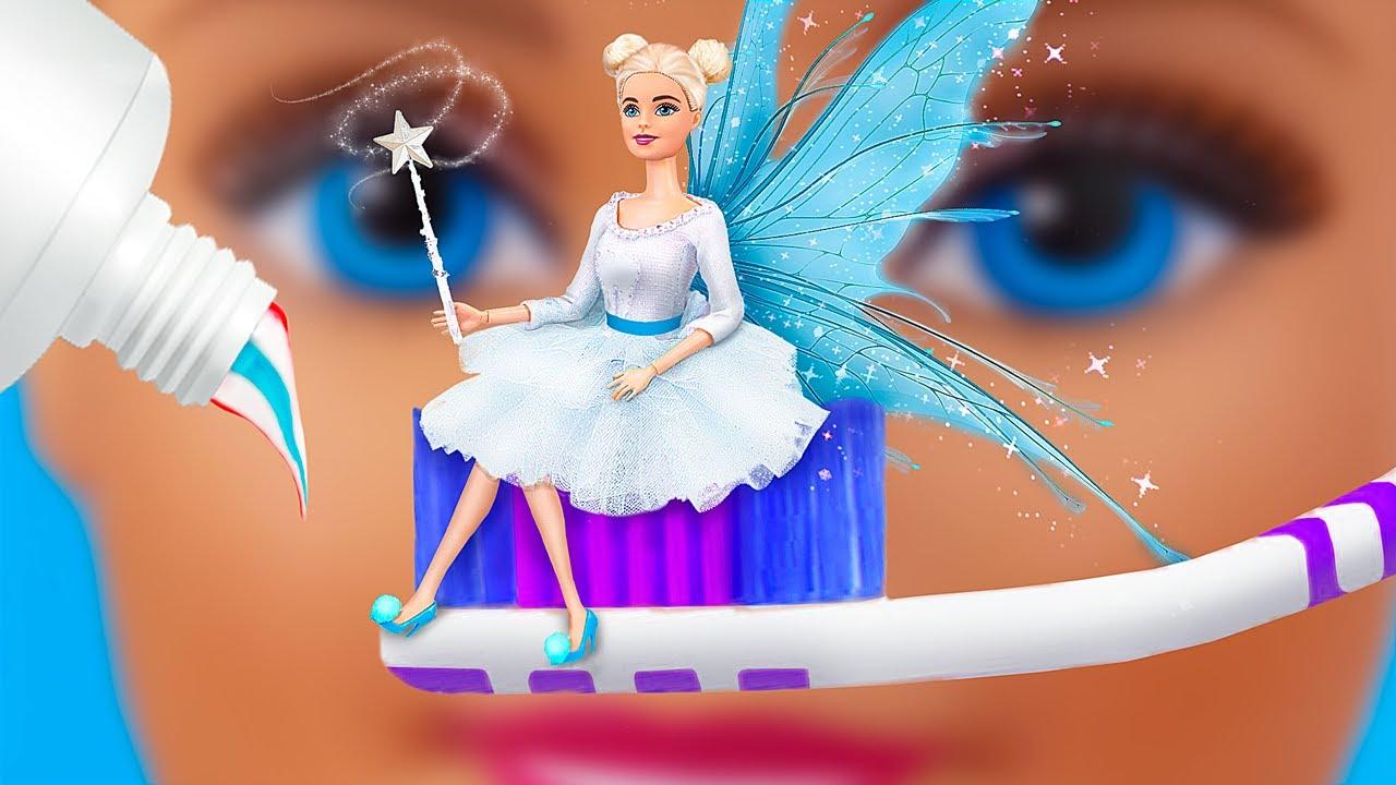 12 Fadas Barbie Truques e Artesanato